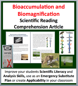bioaccumulation and biomagnification science reading article grade 8 and up