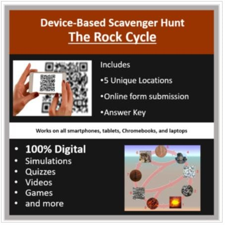 The Rock Cycle - Scavenger Hunt