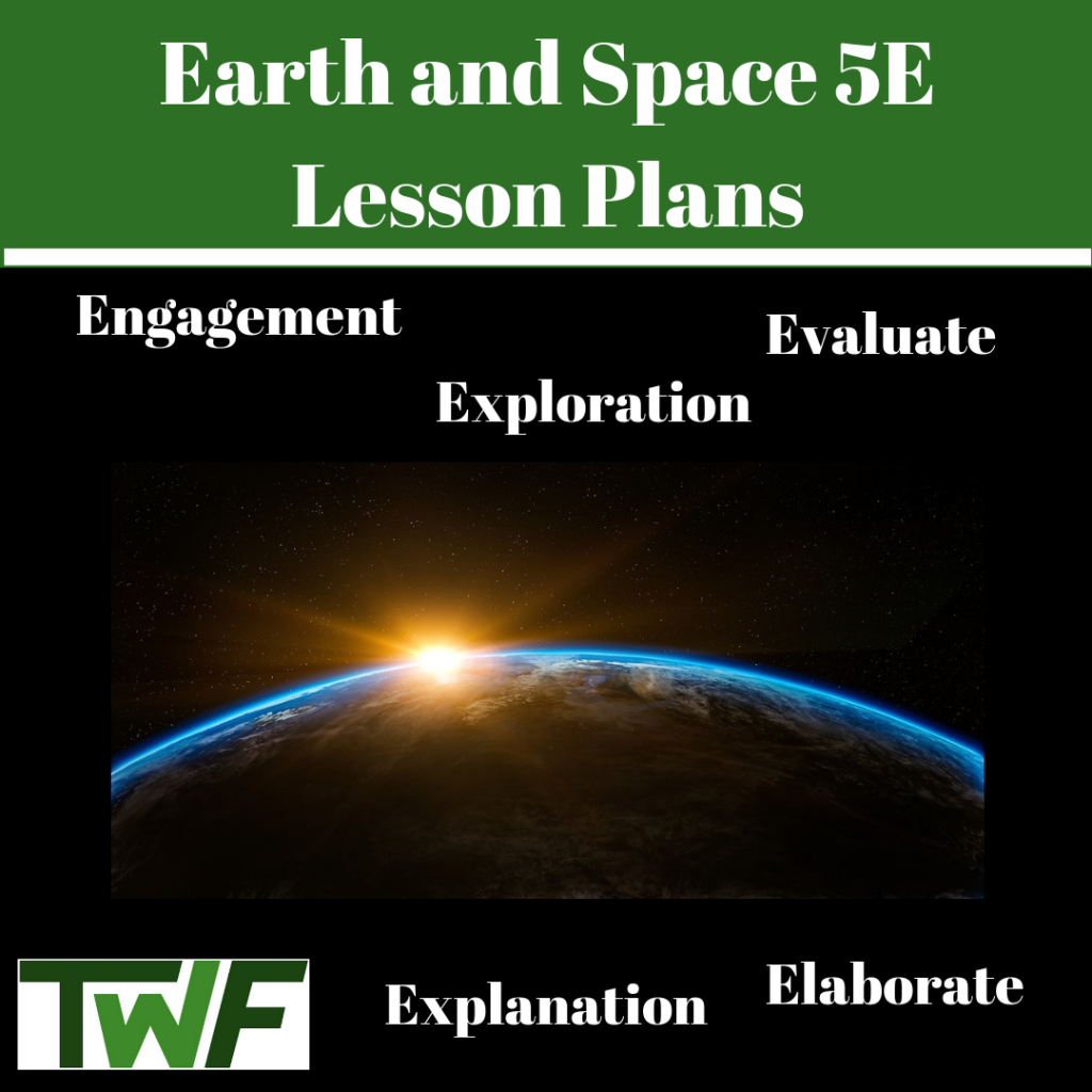 Earth and Space 5E Lesson Plans