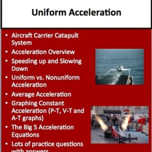 Uniform Acceleration Lesson Bundle